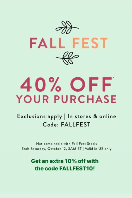 Get 40%  off + an extra 10%  off your purchase at LOFT with the code FALLFEST10. FYI. I always share the better codes on the Sale Alerts page of my blog www.whatjesswore.com and/or latest post. Sale ends 11/12 at 11:59PM ET. 🛍 Shop my sales picks @liketoknow.it http://liketk.it/2FJ3j #liketkit #loveloft #LTKunder50 #LTKunder100 #LTKsalealert