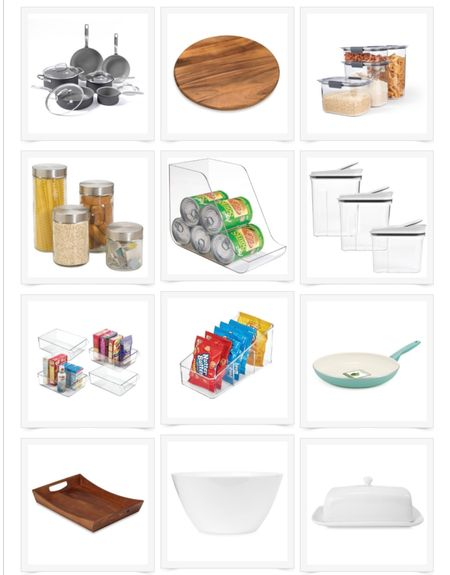 Favorite kitchen storage and kitchen tools! An organized pantry is the perfect way to go back to school right!   #LTKunder50 #LTKunder100 #LTKhome