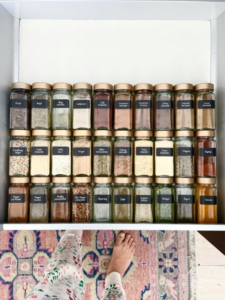 Feeling happy! So pleased with my @neatmethod spice containers and labels!   #LTKunder50 #LTKhome