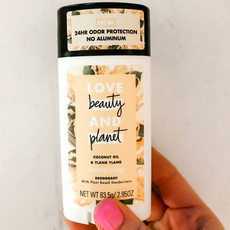 I have to brag on this deodorant because it's legit! I'm not sure what's happening - maybe age but my hormones have been wacky. Sweating more than usual and this stick hasn't even flinched. Happy to report no stank over here. Click link in my bio to follow me on @liketoknow.it fav deodorant linked there. 💛 #liketkit http://liketk.it/2AlXG #LTKbeauty #deodorant #allnatural #nontoxic