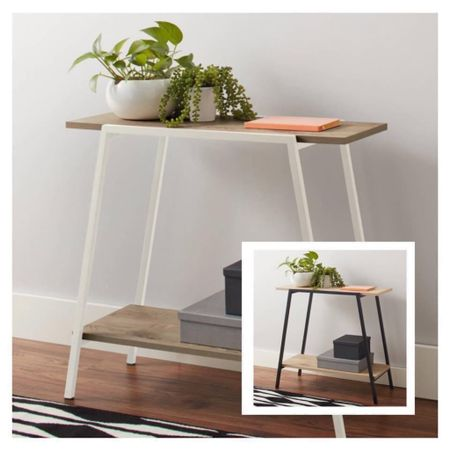 Good Morning!! I have loved this sleek console table for so long and now it's on a GREAT price drop in the white color! 💫💫   Free shipping too  Xo, Brooke  #LTKstyletip #LTKsalealert #LTKhome