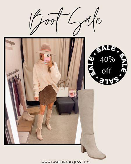 So cute for fall.  Fall boots, fall outfits, fall style   #LTKsalealert #LTKshoecrush #LTKunder100