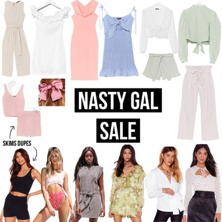Nasty Gal Sale- tons of options! Links in LIKEtoKNOW.it   #sale #salealert #nastygal #trending #wfh #workfromhome #summerstyle #summerdress #bikini #swimsuit #dupe #skims #LTKDay #liketkit @liketoknow.it http://liketk.it/2S1pK #LTKsalealert #LTKunder50