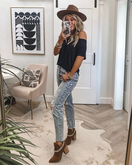 Chain booties (hottest booties of 2021) 39% off run tts 2 colors …reg $150 sale $89 Jeans sz 4 $49 when you sign in as a member tee sz small Save 15% on initial necklace code KIM15  Small necklace is 2 for $30 Fav hair products on sale …Olaplex  Self tanning drops for body on sale..used today    #LTKshoecrush #LTKstyletip #LTKsalealert