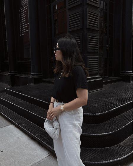 Black and White with Bottega Veneta Mini Jodie