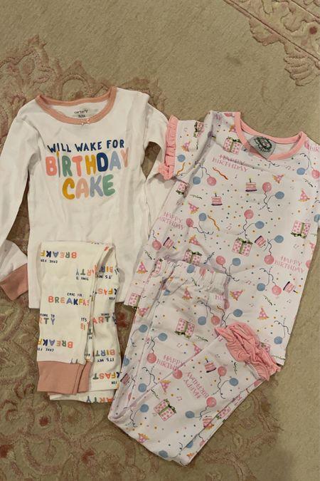 Kids Birthday Pajamas