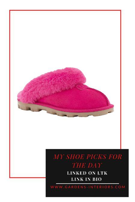 Ugg Hot Pink Coquette 😍🙋🏻♀️   #ugg #uggslippers #pinkslippers #pajamaset #pinkshoes  #LTKGiftGuide #LTKstyletip #LTKshoecrush