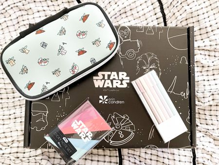 Star Wars pencil box and sticky notes by Wrin Condren! I'm swooning!  Now, do I share with the kids and hubby or keep it all for myself? #liketkit @liketoknow.it    http://liketk.it/3jb4O    Shop your screenshot of this pic with the LIKEtoKNOW.it shopping app    @liketoknow.it.home @liketoknow.it.family #LTKunder50 #LTKhome #LTKworkwear