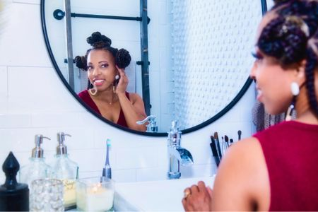 Nothing like a nicely decorated and organized bathroom for a good self-care day!    #LTKfamily #LTKbeauty #LTKhome