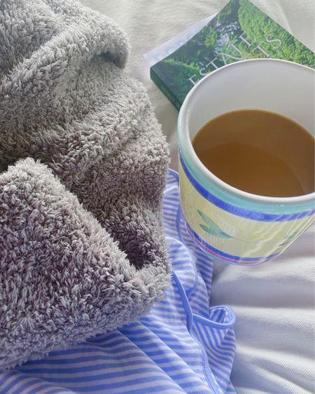 Love a laid back morning reading in my Lake pajamas! @liketoknow.it #liketkit #LTKunder50 #LTKunder100 http://liketk.it/3eqZk