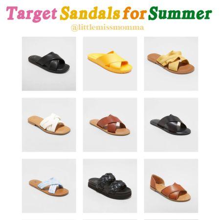 Affordable Summer sandals I'm loving from Target! http://liketk.it/3dCdE #liketkit @liketoknow.it @liketoknow.it.home #LTKunder50 #LTKstyletip #LTKswim
