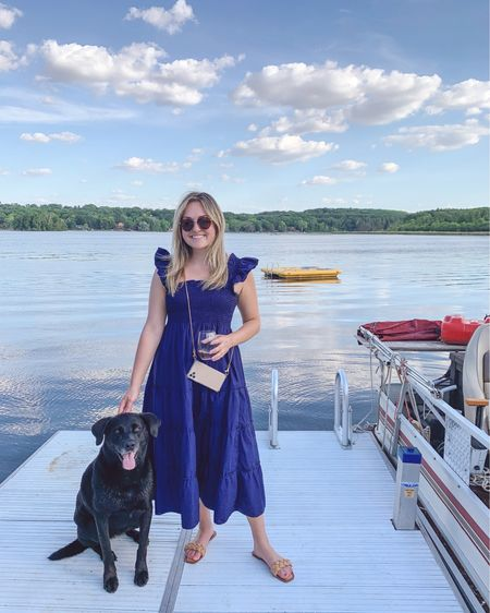 Nap Dress Summer and Lake Life Livin' 😎 These $30 Amazon sandals are sooo cute and true to size. Heads up they did take about a month to ship!   #LTKSeasonal #LTKtravel #LTKunder50