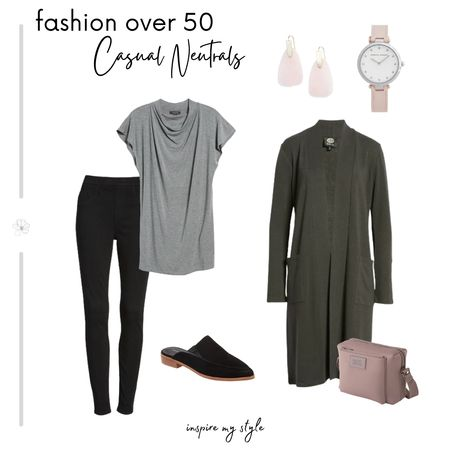 Casual neutrals, perfect for women over 60. All from Nordstrom. #fashionover50 #casual #neutrals #nordstrom #LTKstyletip Download the LIKEtoKNOW.it app to shop this pic via screenshot @liketoknow.it #liketkit http://liketk.it/35iA2