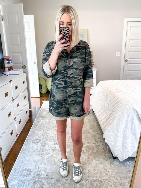 Camo romper, casual style Size: SM 10% off with KELSIE10    #LTKunder50 #LTKHoliday #LTKSeasonal