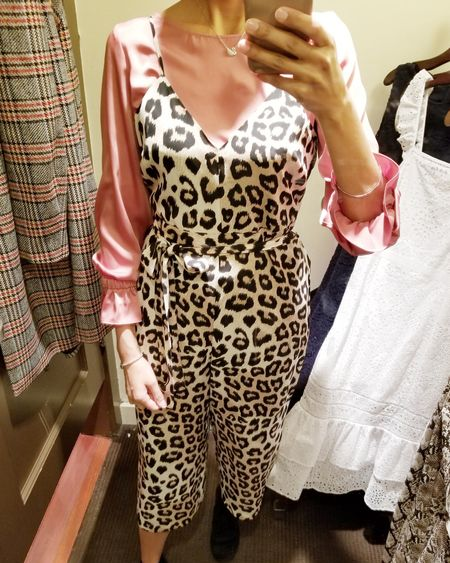Leopard jumpsuit perfect for spring and summer nights!! Layer with a blouse, or wear as is for summer!! .  @liketoknow.it #liketkit #japssparkle #makeitsparkle #summeroutfit #springoutfit #animalprint #jumpsuit #bananarepublic #southasianbloggers #lovelife #torontostyle #fashionblogger #internationalbloggers  .  Screenshot or 'like' this pic to shop the product details from the LIKEtoKNOW.it app, available now from the App Store! http://liketk.it/2AFRH