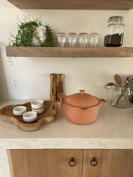 OurPlace pot, kitchen remodel, floating shelves  #LTKhome #LTKHoliday #LTKGiftGuide