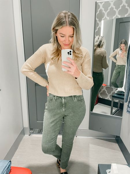 Wild and fable sweater and universal thread skinny jeans at target