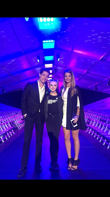 Thank you @maris_dehart for my new Do + Be dress! @chasfashweek night 3 💫 http://liketk.it/2qJLs #liketkit @liketoknow.it