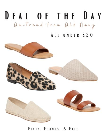 On-trend shoes from Old Navy! Under $20 this week!   #LTKsalealert #LTKshoecrush