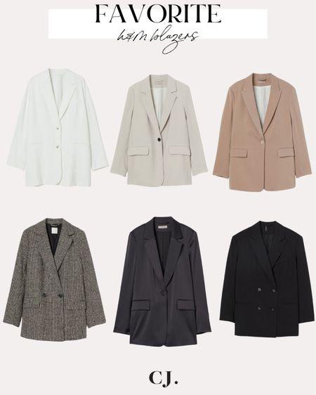 H&M best blazers  #LTKunder100 #LTKunder50