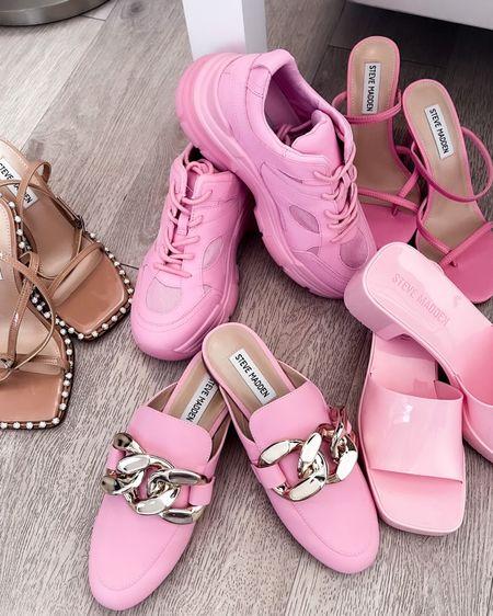 http://liketk.it/3iI0S #liketkit @liketoknow.it #pink #stevemadden #barbiepink #fashion