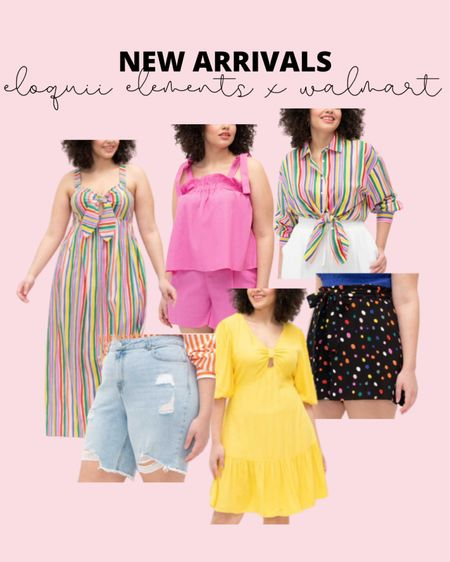 Tons of new plus size summer fashion options from Eloquii Elements! If you need a plus size summer outfit, everything in this line is under $50!  #LTKcurves #LTKstyletip #LTKunder50