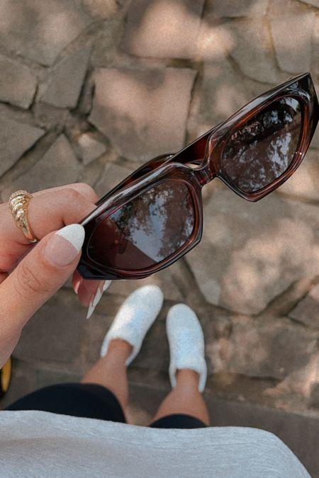 Brown sunglasses 🤍