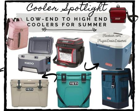 http://liketk.it/3jrHL    Summer, Beach, Camping, Porch, Barbecue (BBQ) coolers! High-end to low end! Perfect for camping, vacation or Father's Day gifts! Pack your bags & travel to the beach, date or camping outfit and head to the barbecue or grill with these amazing coolers! Walmart find and found it on amazon!   Screenshot this pic to get shoppable product details with the LIKEtoKNOW.it shopping app - make sure you follow FrugalDealsDelivered! #liketkit @liketoknow.it #LTKmens #LTKtravel #LTKhome