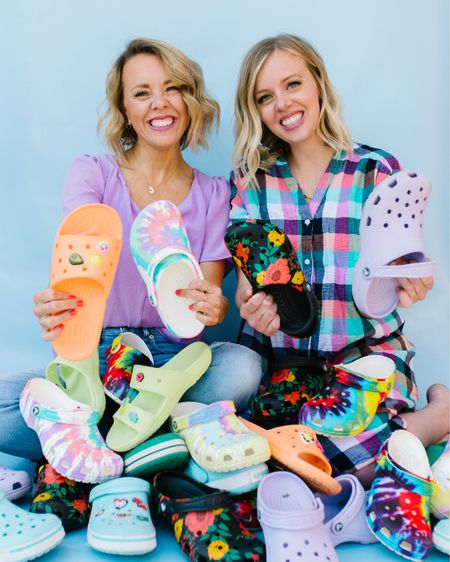 How many@crocs from @dsw are too many @crocs from @dsw? Actually, don't answer that. We already know there's no freaking limit!!!  But,what we DOwannaknow is...did you buy your first pair of@crocs in the last year? Some of you have messaged and said you pulled the trigger and are now living on a different spiritualplane of comfort along with the two of us, but we want to open it up to allyoucuties. So, spill it. Areyoucroc-rocking yet? http://liketk.it/3gPGy #liketkit @liketoknow.it #myDSW #influencer