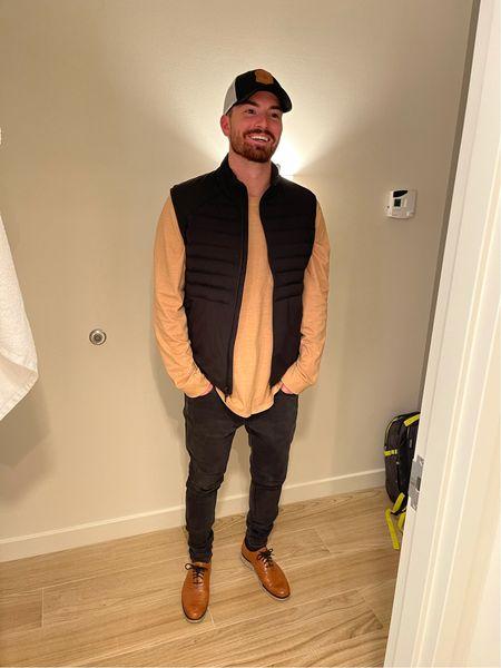 Garrett's dinner outfit!