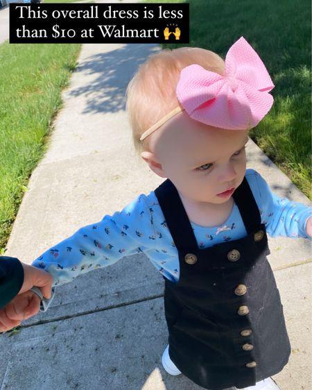 http://liketk.it/3eVrh #liketkit @liketoknow.it baby girl dress overalls #LTKkids #LTKbaby #LTKunder100 @liketoknow.it.family @liketoknow.it.home