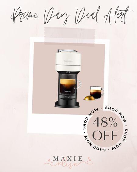 🚨 Amazon Prime Day Deal Alert 🚨  - Nespresso 48% Off  #amazonprimeday #amazonprimefinds #nespresso #amazon #amazondeals #nespressomachine  #LTKsalealert #LTKhome #LTKunder100