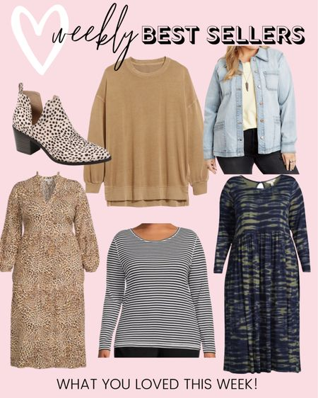 All the plus size fashion favorites you loved last week! So many great pieces to make plus size fall outfits!   #LTKunder100 #LTKcurves #LTKstyletip