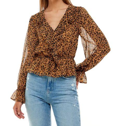 Nsale ruffle blouse   #LTKsalealert #LTKstyletip