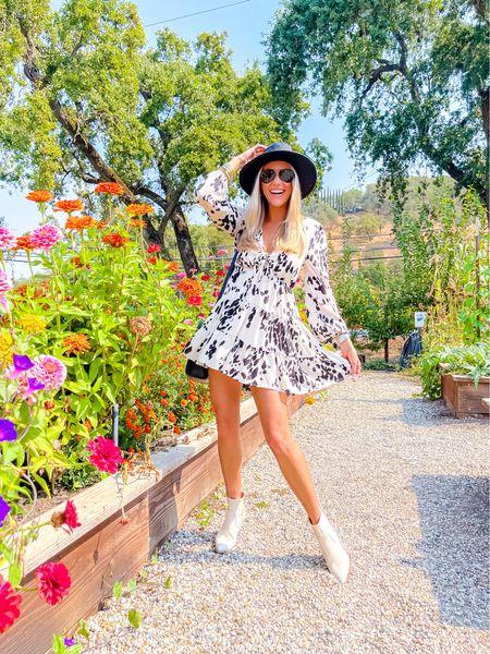 BuddyLove dress size XS Discount Code: JanellePaige  Hat: amazon    #LTKunder100 #LTKstyletip #LTKunder50