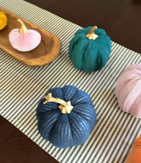 Colorful pumpkins are selling out fast… and so cute!   #LTKunder50 #LTKhome #LTKSeasonal