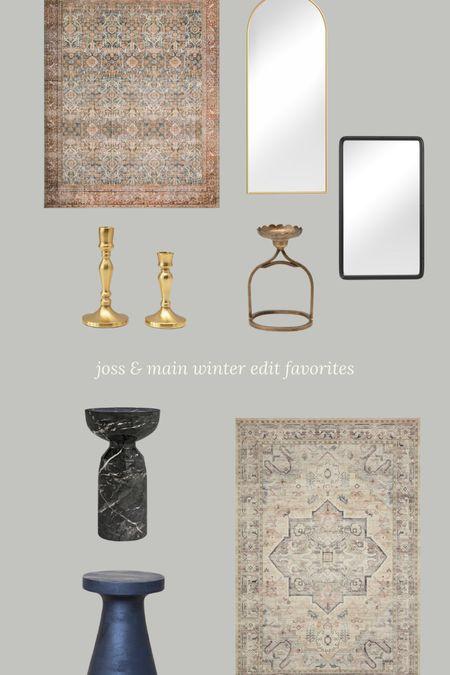 Shop my Joss & Main Winter Edit favorites!   #LTKSeasonal #LTKhome #LTKHoliday