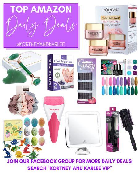 Top Amazon Daily Deals!!  Amazon daily deal   amazon deal   amazon beauty   amazon finds   amazon favorites   amazon lightening deal   Kortney and Karlee   #kortneyandkarlee #LTKunder50 #LTKunder100 #LTKsalealert #LTKstyletip #LTKSeasonal #LTKbeauty #LTKhome @liketoknow.it #liketkit