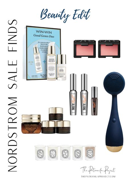Nordstrom Anniversary Sale Beauty Edit Sunday Riley Good Genes NARS Orgasm Blush Duo Benefit They're Real Mascara PMD Facial Cleansing Device Diptyque Travel Size Candle Set http://liketk.it/3jys4 @liketoknow.it #liketkit #LTKsalealert #LTKunder100 #LTKunder50 #LTKbeauty