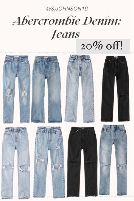 Abercrombie denim jeans 20% off Denim jeans   #LTKDay #LTKsalealert #LTKunder50 http://liketk.it/3h4mc @liketoknow.it #liketkit