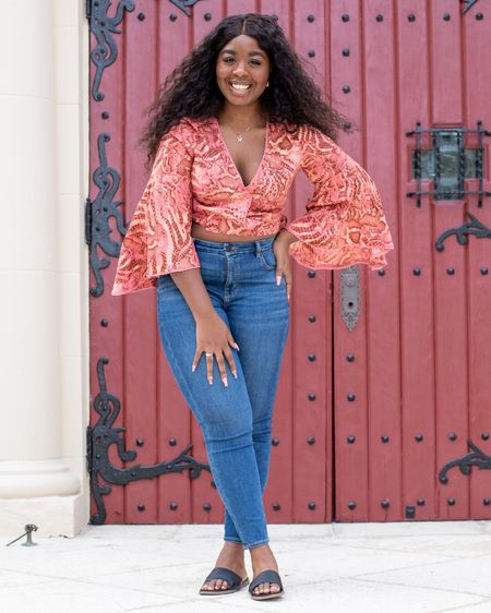 Finding the right jeans for curvy girl like myself can be hard, especially high wasted jeans but American Eagle always fits right and for under $50! I paired this look with my favorite Steve Madden sandals.  http://liketk.it/3ccXW #liketkit @liketoknow.it #LTKshoecrush #LTKunder50 #LTKstyletip Shop your screenshot of this pic with the LIKEtoKNOW.it shopping app