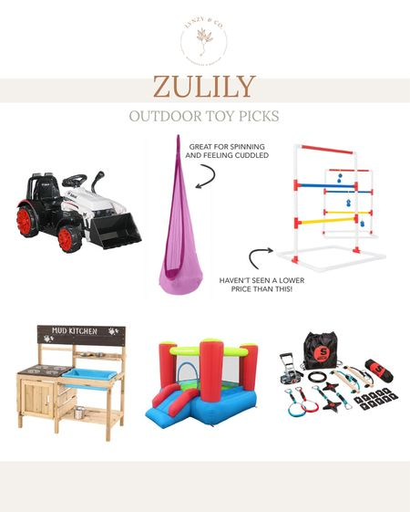 A few outdoor toy picks from zulily that are on sale!