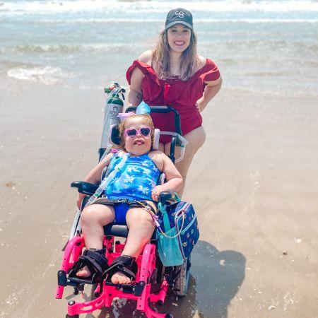 Adaptive swimsuits for girls and a fun one piece swimsuit for mama! http://liketk.it/3ePZ8 #liketkit @liketoknow.it #LTKswim #LTKfamily