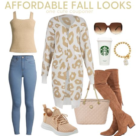 A Cute & Casual look for this season. A Cardigan can quickly become a wardrobe essential in the cool Fall weather. This one will pair well with many colors. Dress up or down with sneakers or boots! Add accessories like Sunnies or bracelets to complete the look.    #LTKstyletip #LTKunder100 #LTKunder50