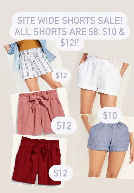 All shorts 8,10 and $12!! Up to 60% off site wide!  #LTKSeasonal #LTKsalealert #LTKSpringSale
