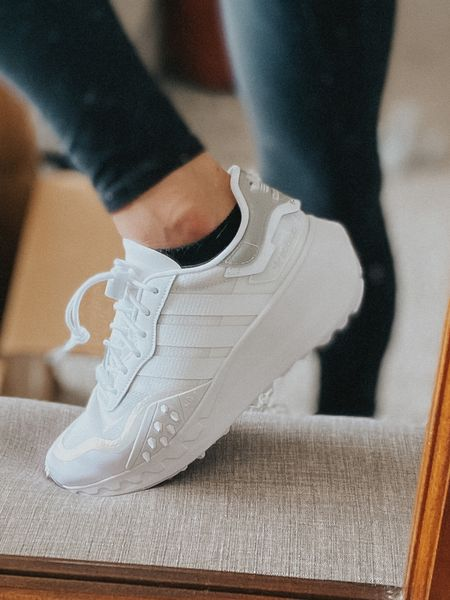 Adidas came out with a chunky white sneaker & I'm in love. Almost 1/2 off for members!  #LTKstyletip #LTKsalealert #LTKunder100