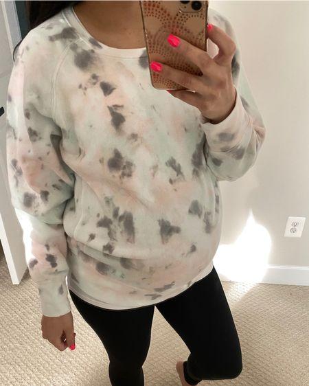 My new maternity sweatshirt 🤩 only $25! http://liketk.it/36y5u #liketkit @liketoknow.it