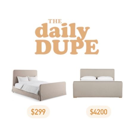 Bed, Linen, Slipcovered, Skirted, Home Furniture