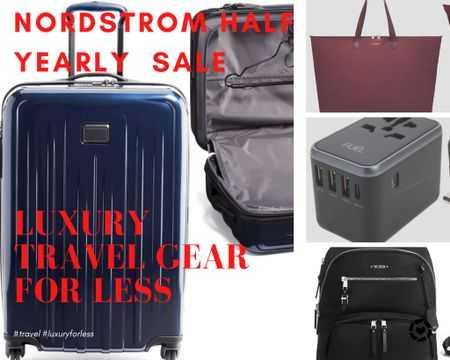 Don't miss these deals on Luxury Travel Gear for less! Nordstrom Half Yearly Sale!   #LTKtravel #LTKsalealert