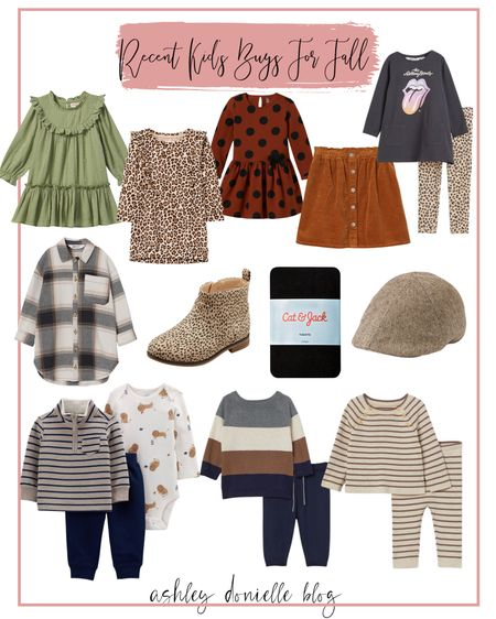 My recent fall outfit purchases for my kids!   #LTKstyletip #LTKkids #LTKbaby